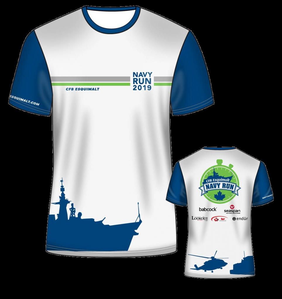 Navy Run Shirt