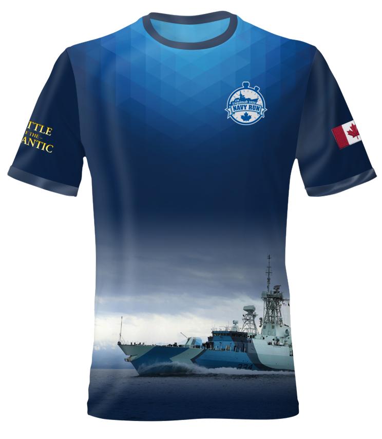 Navy Run Shirt 2020